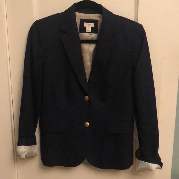 J. Crew Jackets & Blazers - J crew blue schoolboy blazer